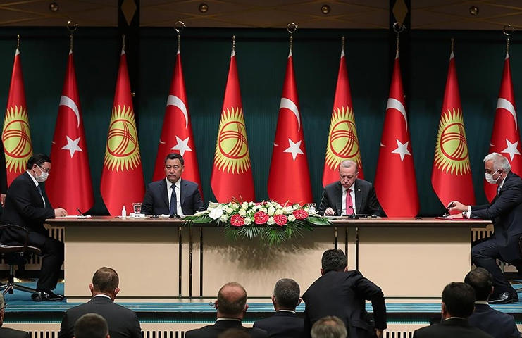 Türkiye ve Kırgızistan arasında 'Yüksek Düzeyli Stratejik Konsey Oturumu' yapıldı