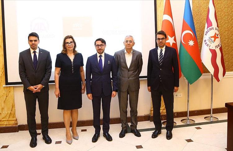 Azerbaycan'dan AA ve TRT'ye anlamlı ödül
