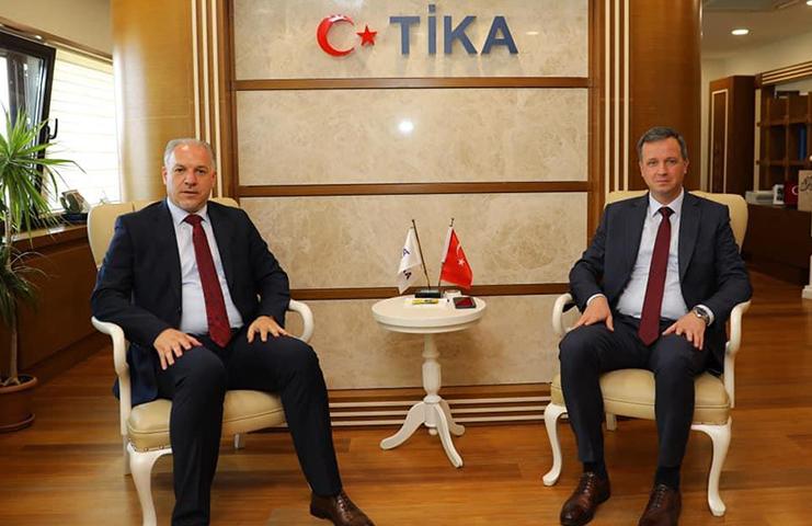 TİKA Başkanı Kayalar'a Kosovalı Bakan Damka'dan teşekkür ziyareti