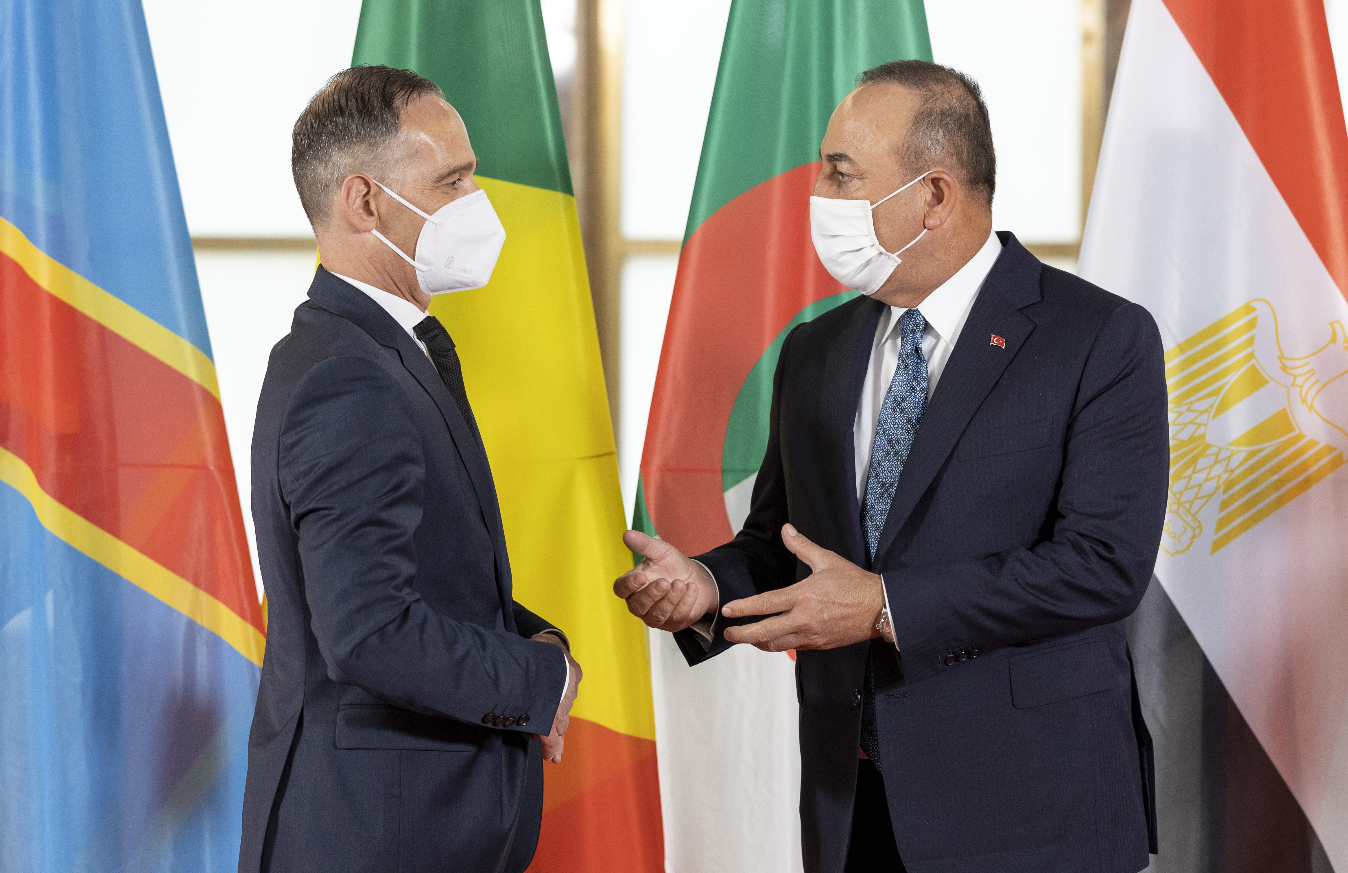 Libya konulu Berlin Konferansı Türkiye Dışişleri Bakanı Mevlüt Çavuşoğlu'nun katılımıyla başladı