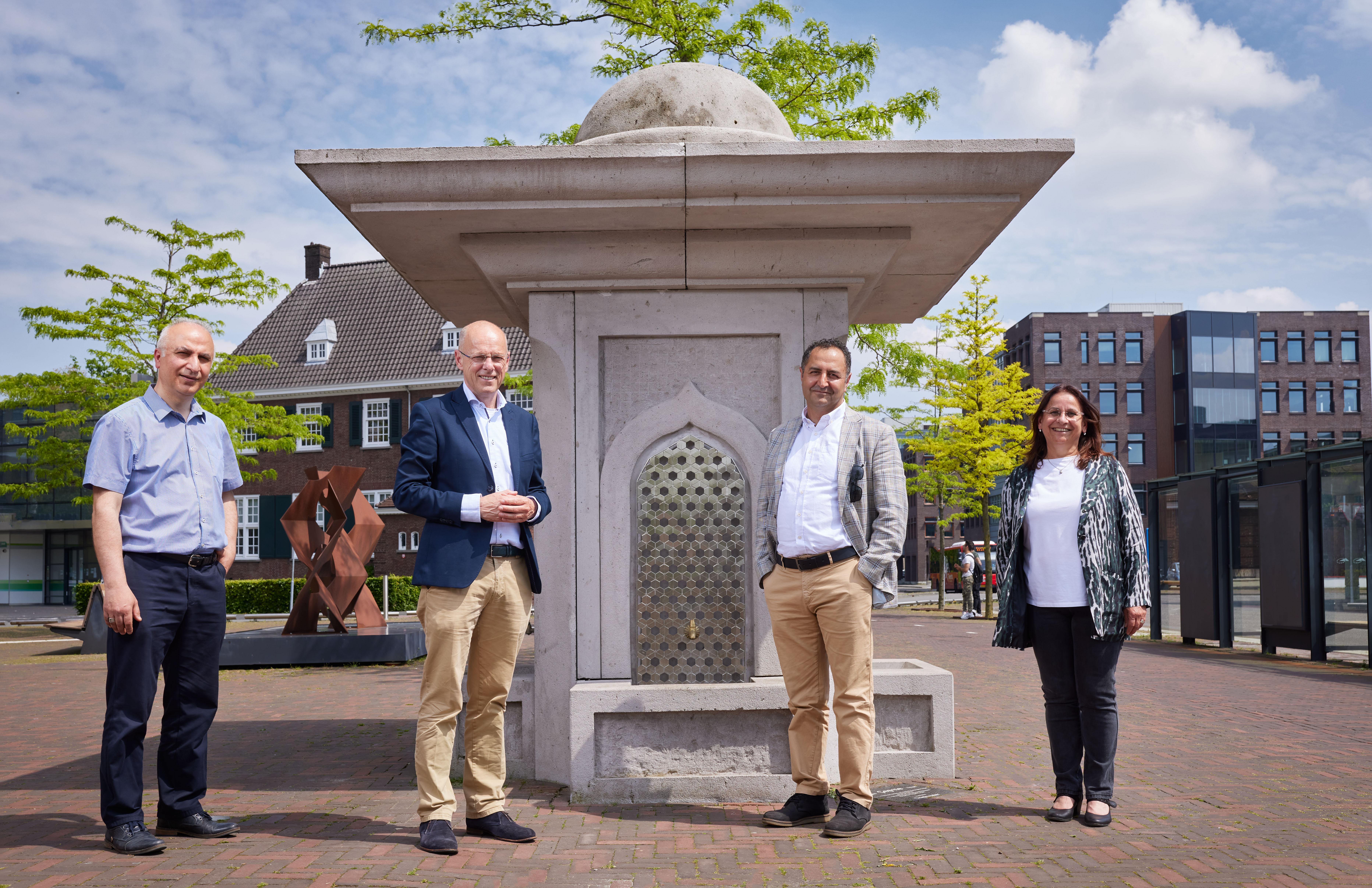 Hollanda'da Osmanlı mimarisi özelliklerini taşıyan çeşme mimarisiyle örnek gösterildi