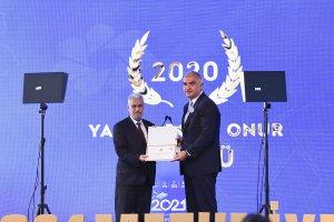YTB'den Başmüftü Dr. Mustafa Hacı'ya