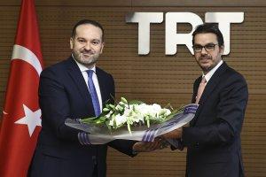 TRT'de devir teslim töreni yapıldı
