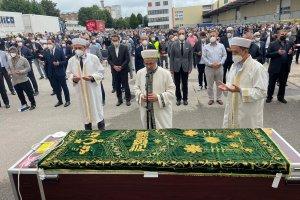 DİTİB Başkanı Şenol İşçi'yi binler son yolculuğuna uğurladı
