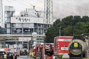 Almanya'daki kimya tesisinin katı atık yakma alanında patlama meydana geldi