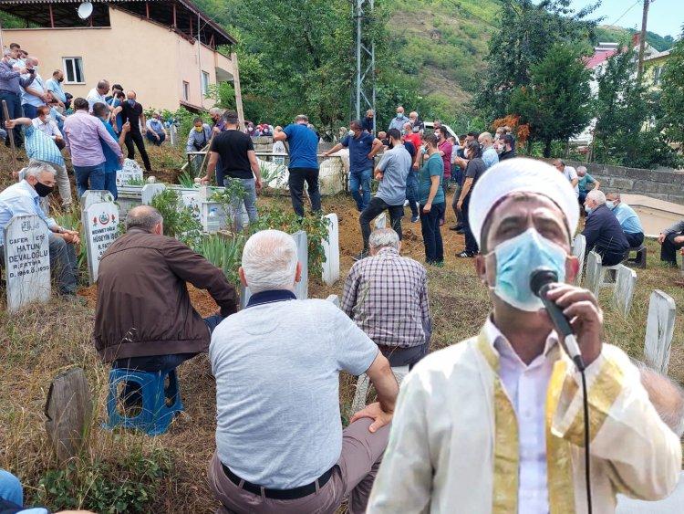 DİTİB Eyalet Birliği Başkanı Şenol İşçi memleketi Trabzon'da toprağa verildi