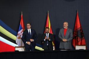 Sırbistan, Arnavutluk ve Kuzey Makedonya'dan