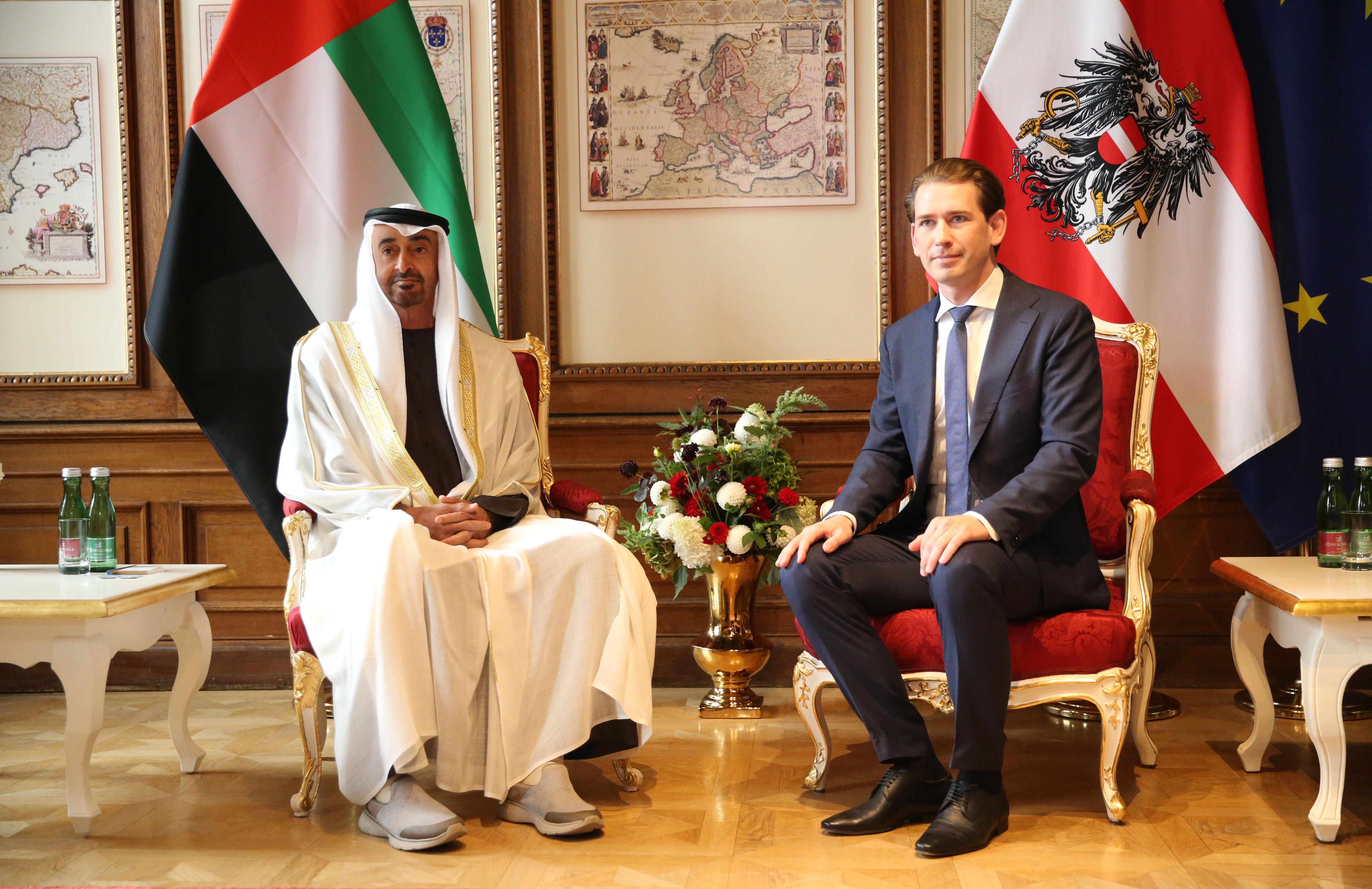 Avusturya ve Birleşik Arap Emirlikleri arasında Anlaşması imzalandı