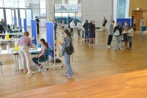 Köln DİTİB Merkez Camii'nde iki kampanyada 3771 kişi aşı oldu