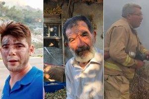 Orman yangınlarında hayatını kaybedenlerden geriye hüzünlü hikayeleri kaldı