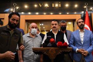 Bakan Pakdemirli: (Kahramanmaraş'ta uçağın düşmesi) 3'ü Türk 8 çalışma arkadaşımızı kaybettik