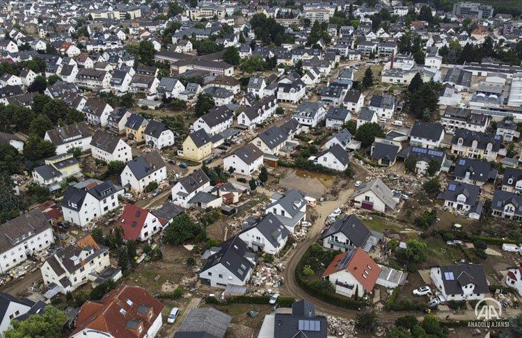 Almanya, sel felaketi sonrasında afetzedelerin yaralarını saramıyor