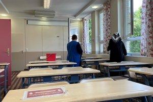 Almanya'da camileri yüz yüze eğitime hazırlanıyor
