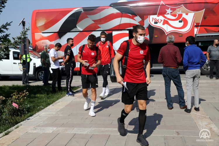 Sivasspor, UEFA Avrupa Konferans Ligi'nde yarın Kopenhag'a konuk olacak