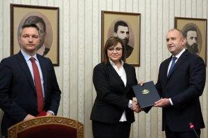 Bulgaristan Cumhurbaşkanı Radev hükümet kurma görevini Bulgaristan Sosyalist Partisine verdi