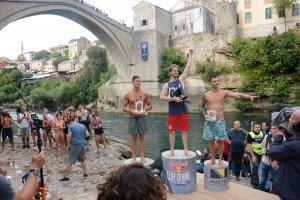 Red Bull Cliff Diving Dünya Serisi'nin Mostar ayağı sona erdi