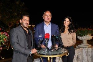 Bakan Ersoy, Bollywood yıldızlarıyla bir araya geldi