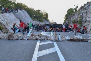 Karadağ'ın Cetinje şehrinde Ortodoks kilisesinin taht töreni nedeniyle gerginlik artıyor