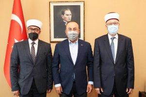"""Bakan Çavuşoğlu """"Soydaşlarımızı Yanlız Bırakamayız"""""""