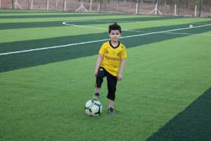 TİKA, Irak'ın Telafer ilçesinde uluslararası standartlarına uygun bir futbol sahası yaptı