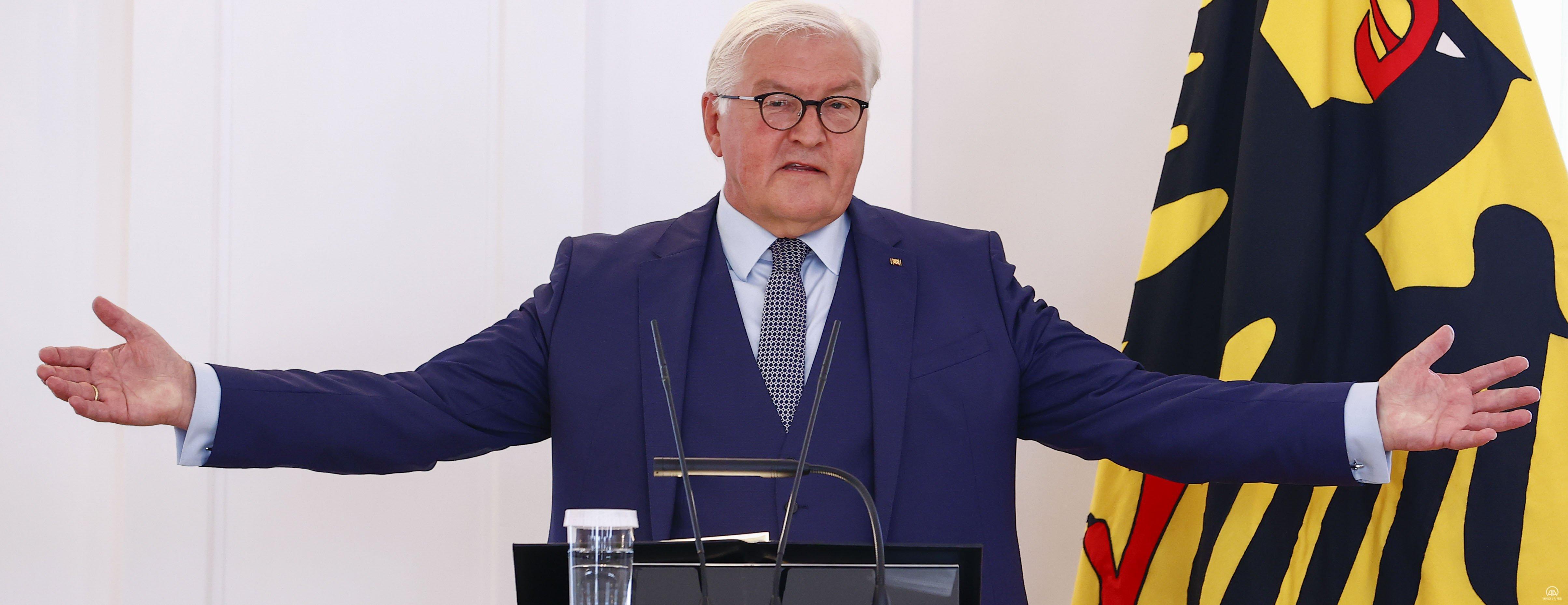 Alamanya Cumhurbaşkanı Steinmeier, göçün 60. yıl dönümü vesilesiyle Türkleri kabul etti