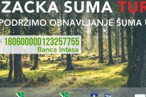 Sırbistan Sancak'tan Türkiye'deki Ormanlara Fidan Bağışı