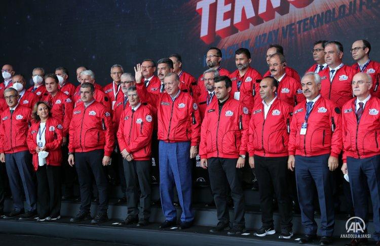 Cumhurbaşkanı Erdoğan, Teknoloji Festivali TEKNOFEST'te konuştu