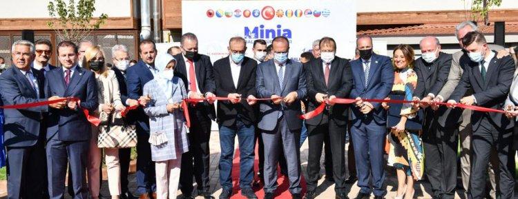 YTB Desteğiyle Bursa'da Minia Balkantürk Parkı açıldı