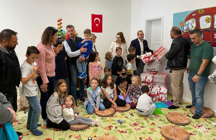 Çekya'da, Türk çocuklar için hafta sonu okulu eğitime başladı