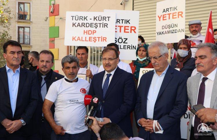 TBMM İnsan Hakları Komisyonu Başkanı Hakan Çavuşoğlu, Diyarbakır'da ziyaretlerde bulundu