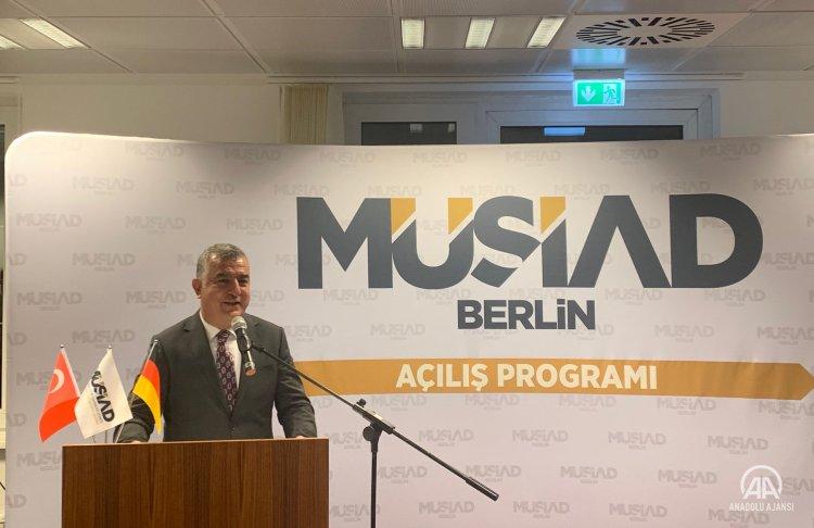 Berlin Büyükelçisi Şen Almanya ile ekonomik iş birliğimiz Türkiye için büyük önem taşıyor
