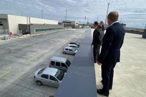 İpsala Sınır Kapısı'na 100 dölümlük araç parkı yapılıyor