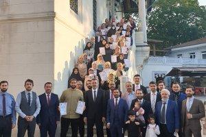 Fahri Kur'an kursu öğreticilerine yeterlilik belgesi