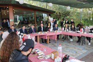 Edirne'de Balkanlar'dan gelen öğrenciler