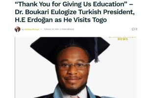 Afrika Gündemine Türkiye Mezunları Damga Vurdu