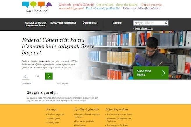 Almanya, kamuda çalışacak göçmen gençler arıyor