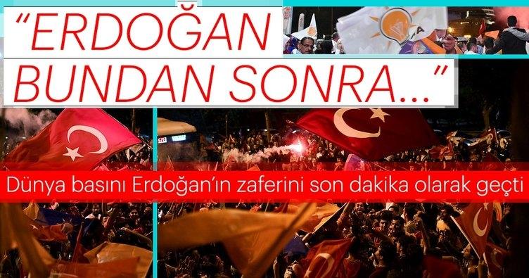 Dünya basınından 24 Haziran seçim yorumları