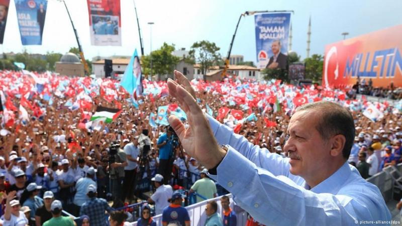 Türkiye'nin 12. Cumhurbaşkanı Erdoğan